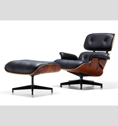 Кресло Eames lounge chair с оттоманкой